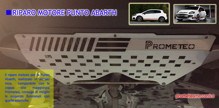 Riparo Motore Punto Abarth