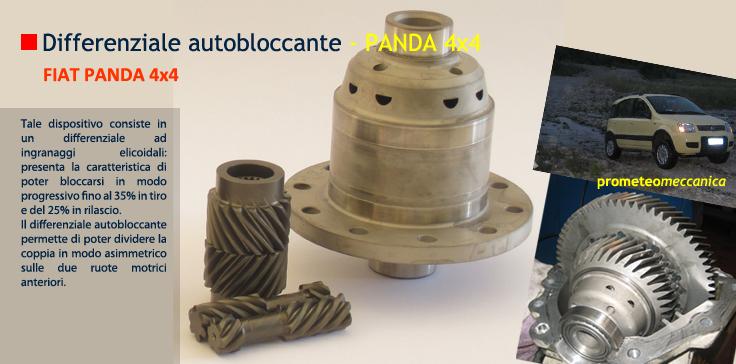5f84695ca550 PROMETEO MECCANICA - Differenziale autobloccante Panda -